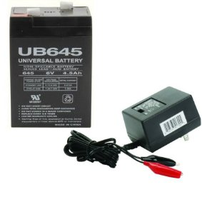 6V 4.5Ah Replacement For Mojo Outdoors Battery And Charger