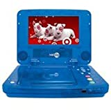 NextPlay- NP70 7-Inch LCD Screen Portable DVD Player (Blue) with Built-In Rechargeable Battery