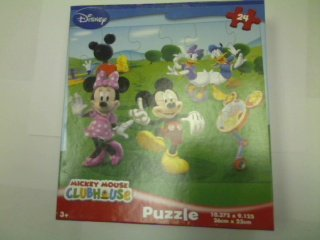 Cheap Fun Disney Mickey Mouse Clubhouse 24-Piece Jigsaw Puzzle (Dancing in the Park) (B00394TA50)