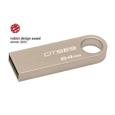 Kingston Data Traveler SE9 16 GB Pen Drive (Silver)