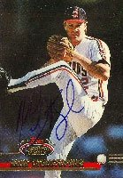 Mike Christopher Cleveland Indians 1993 Topps Stadium Club Autographed Hand Signed... by Hall+of+Fame+Memorabilia