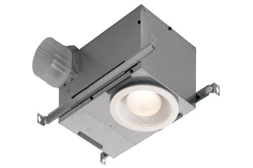 Broan 744 70 CFM Recessed 75 Watt Bulb Fan/Light