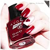 Speed Dry and Nail Enamel (Red Wine)