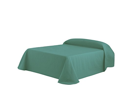 Eysa Gravel - Colcha, 250 cm, color verde