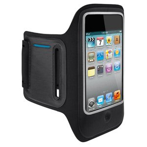 Belkin DualFit Armband for iPod touch 4th Gen (Black)
