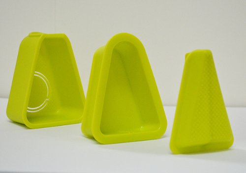 NEW! とんがりおむすび器 なんでもGOO! -デコ・ボート付属(緑)-おむすび型