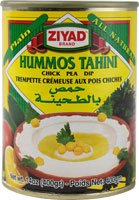 Ziyad Brand All Natural Hummos Tahini Chick Pea Dip -- 14 oz