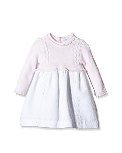 Elisa Menuts Vestido Rosa / Blanco