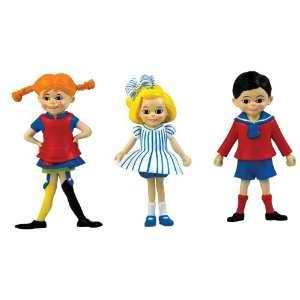 Amazon.com: Micki Pippi Tommy and Annika Figures: Toys & Games
