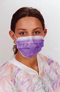 Earloop X-Safe Face Masks Lt Pink Box of 50 by valu med International