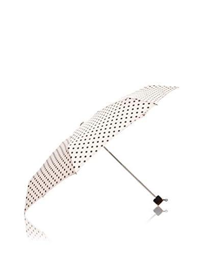 Dots Paraguas Topos Negros Rosa