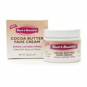 Black and beautiful cocoa butter fade cream