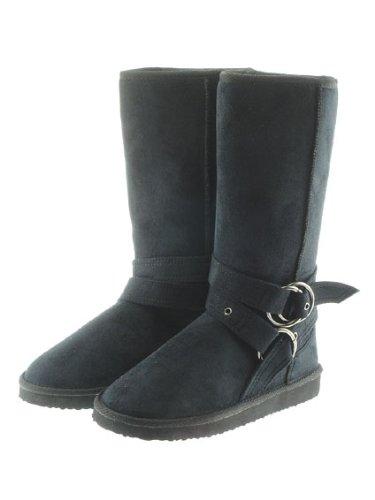 Couture Discount Damenstiefel Fell Boots, schwarz (WST4), Gr. 36