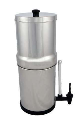 Travel Berkey (Bt2X2-Bb) Water Purifier With 2 Black Filters And Sight Glass Spigot