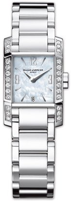Baume & Mercier Women's 8666 Diamant Swiss Diamond Watch