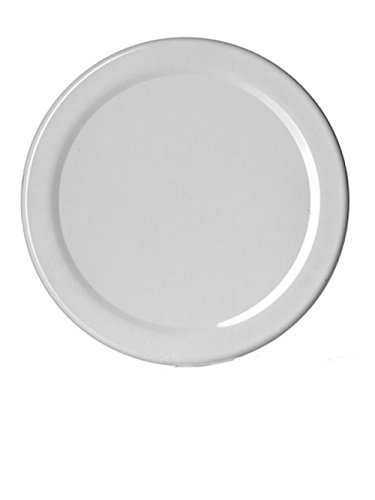 A & A Worldwide Metal Plastisol Lined Lug Twist Lids, 48 Millimeter (24, White)