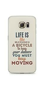 Life Is Like Samsung Galaxy S6 Soft Case