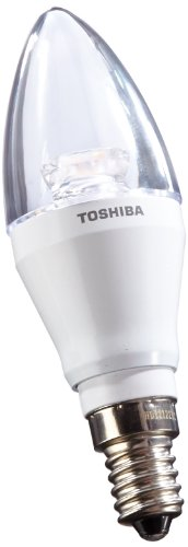 Toshiba 6W > 25W E14 Led Warm White Candle Shape Ldcc0627Ce4Euc