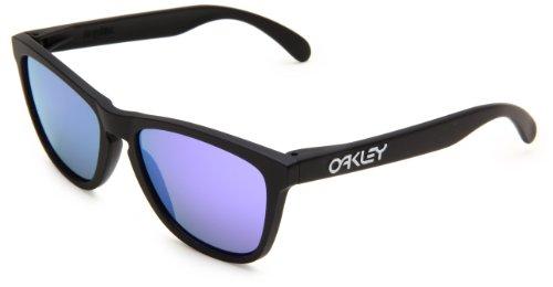 9c559a647ee Best Buy Oakley Mens Frogskins 24-298 Iridium Cat Eye Sunglasses ...