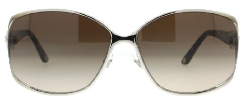 Versace Versace 2125B 131213 Brown 2125B Aviator Sunglasses
