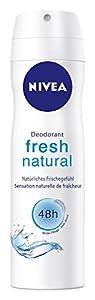 Nivea Fresh Natural Deo Spray, 4er Pack 4 x 150 ml