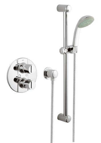 Grohe Grohmaster 2000 BIV 3/4 LP Concealed Thermostatic Shower Mixer Set