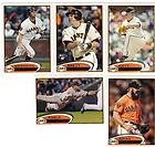 "2012 Topps San Francisco Giants ""World Series Champs"" Complete Team Set - (Series 1 & 2) - 18 Cards including Brian Wilson, Lincecum, Posey, Surkamp RC, Sergio Romo, Bumgardner, Brett Pill, Belt, Sandoval & more shipped in a protective plastic case"