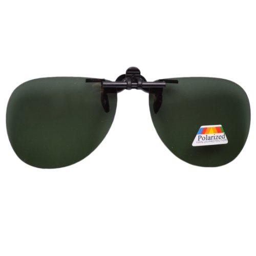 Eyekepper Aviator Sonnenbrillen-Clip für Brillenträger Grün