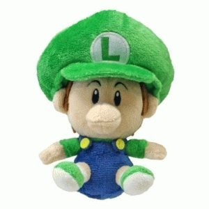 "Official Super Mario Plush 5"" Baby Luigi"