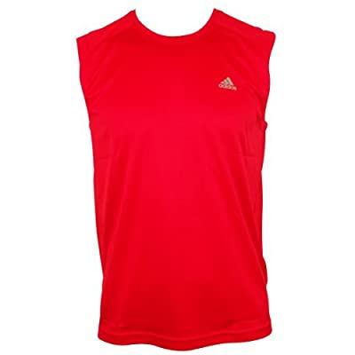 Mens Adidas Clima Lite Climalite Running Shirt Vest Top T-Shirt Gym Training Tee from Adidas