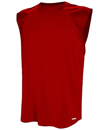 Russell Athletic Men's Dri-Power Sleeveless Raglan Tee