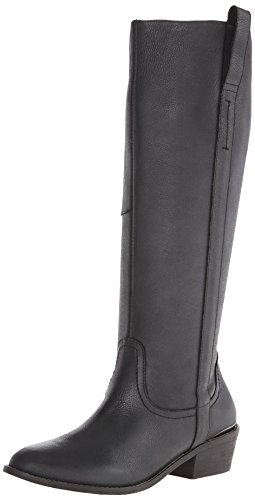 Very Volatile Women's Sheeley Riding Boot,Black,8.5 B US