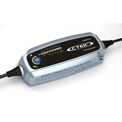 Batterieladegerät CTEK Lithium XS, Ladegerät für Motorrad Lithium Batterien