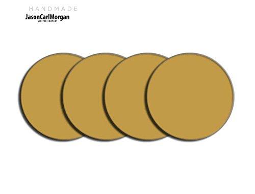 Telecommande JCM Jante en alliage Bouchon Badges pour SAAB FORD BMW (CLR 60 mm), or