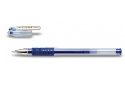 Pilot G1 Grip - Bolígrafo roller de gel (punta extra fina de 0.5 mm, 12 unidades), color azul