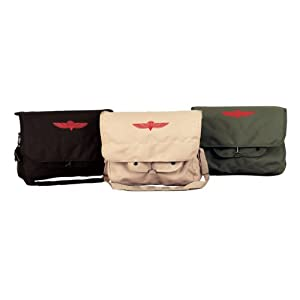 Rothco Canvas Israeli Paratrooper Bag from Pro-Motion Distributing - Direct