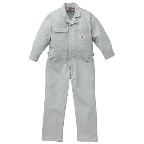 Dickies(ディッキーズ) 子供ストライプツヅキ服 シルバーグレー 100cmサイズ