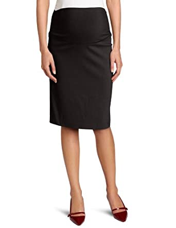 Ripe Maternity Women's Suzie Pencil Skirt, Black, X-Small