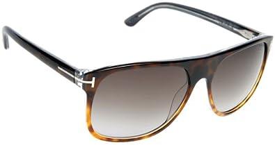 Tom Ford Sunglasses - Alphonse / Frame: Tortoise Fade Lens: Gray Gradient