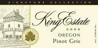 King Estate Pinot Gris 2011 750Ml
