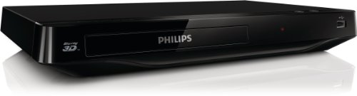 Philips BDP2980 3D Blu-ray-/DVD-Player (Full-HD 3D, 1080p, USB 2.0) schwarz