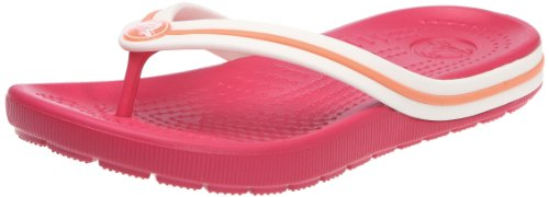 Crocs Crocband Flipswitch Raspberry/Grapefruit Flip And Thong Sandal 11138-613-115 8 8/9 Child UK