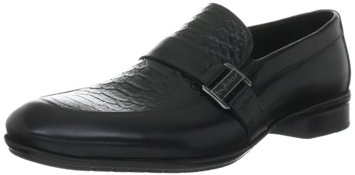 Byblos MINO Slip-On Shoes Mens Black Schwarz (NERO) Size: 7 (41 EU)