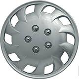 Streetwize SWWT19 Mercury Premium Bagged Wheel Cover Set 15-inch