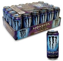 Monster Absolutely Zero Energy Drink - 24/16oz Cans