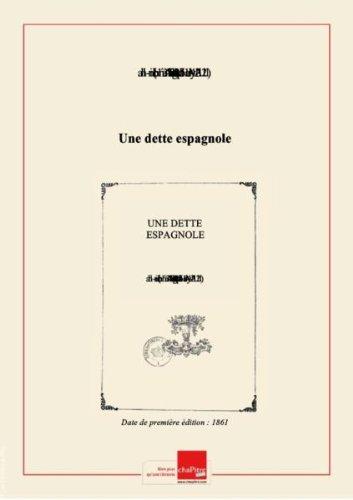 une-dette-espagnole-edition-1861