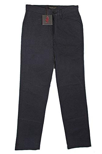 marl-boro-classics-taglia-44-colore-grigio-scuro-cotone-jeans-pantaloni