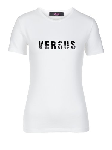 Versace Jeans Couture Top (F-03-To-28071) - 36(DE) / 42(IT) / S(EU) - weiss