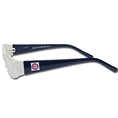 MLB Team Color Reading Glasses, +1.75, Chicago Cubs