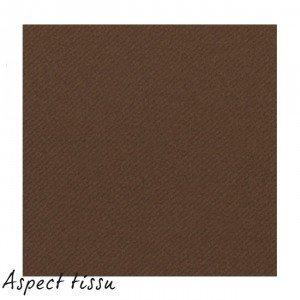 40-GRANDES-serviettes-de-Table-papier-aspect-Tissu-chocolat